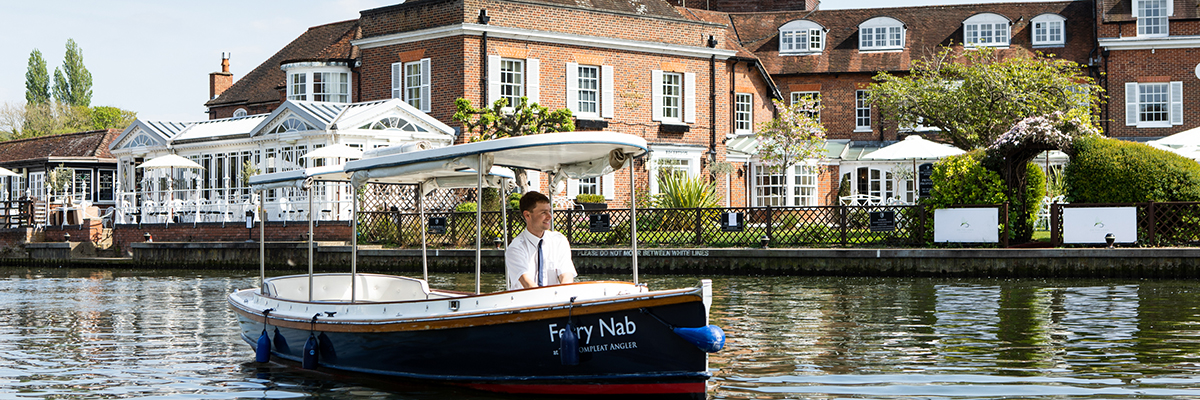 Luxury hire boats at The Compleat Angler Hotel